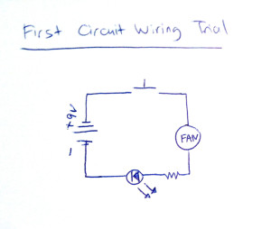 first trial - pcom circuit