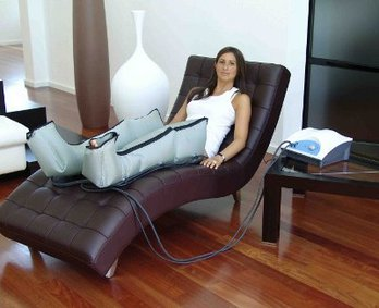 Lymphedema pheumatic therapy